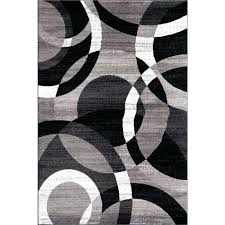 grey area rugs teal and black target