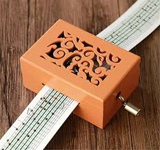 Music box mechanisms have a long and thrilling history. Amazon Com Biscount Make Your Own Music Box Kit Carved Wood Mechanism Musical Box Handcrank Diy Musicbox Gift 15 Notes Orange Home Kitchen