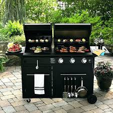 grill griddle combo commercial gas blackstone tailgater