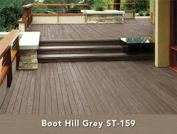 Behr Semi Transparent Wood Stain Color Chart Behr Semi Transparent Wood Stain In Boot Hill Grey Deck