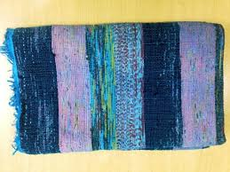 cotton and art fabric patched with canvas backing dhurrie rugs indian