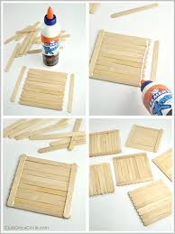 craft stick homemade tic tac toe board for kids