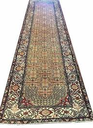 hr antique farahian runner rug rust color 10 2 x3 5 traditional hall and stair runners by handcraft rugs