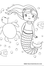 These half woman, half fish creatures have been part of legends of sailors for centuries that it is difficult today to know the origin. Download This Simple Mermaid Coloring Sheet For Kids For A Calm Indoor Activity For Kids This Su Mermaid Coloring Pages Mermaid Coloring Summer Coloring Pages