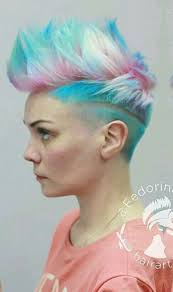 Mo Hock Hair Style best 25 lady mohawk ideas shaved sides pixie 1452 by stevesalt.us