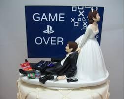Funny Wedding Cake Topper Etsy