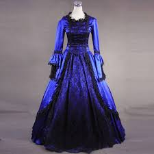Customized 2018 Women's <b>Gothic</b> Victorian Period Dress ...
