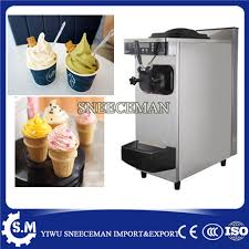 Yogurt Vending Machine Gorgeous Commercial Table Top Mini Soft Ice Cream Vending Machine Ice Cream