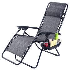 camping zero gravity chair folding zero gravity chair outdoor picnic camping sunbath beach chair with utility tray reclining lounge zero gravity camping