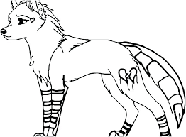 Coloring Pages Wolf Coloring Pages Anime Of A Sheets Detail Girl