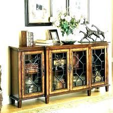 antique buffet table with glass doors metal melange 4 door credenza patio cabinet sideboard cool galleries