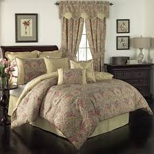 toile comforter sets queen waverly swept away paisley set free today 18