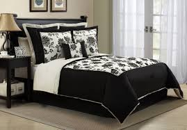 large large 1077x751 pixels casual bedroom design with black eye catching white comforter