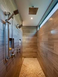 dual shower head shower. Dual Shower Head Placement Bathroom Contemporary With Walk-in Modern Fixed Showerheads