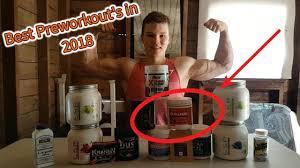 best pre workout supplements 2018