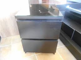 pair of black 2 drawer nite tables in excellent condition our just 289 00 for the pair