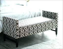 diy upholstered storage bench upholstered diy ottoman storage bench