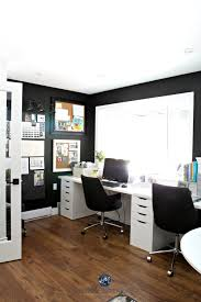 cork boards for office. Home Office With Sherwin Williams Tricorn Black, Alex Desk And Decorating Corkboards. Kylie M Interiors Virtual E-design Cork Boards For