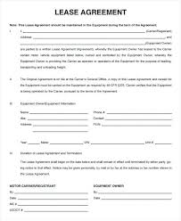 Compactor Rental Agreement Template Free Sample Download Equipment ...