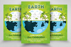 Happy Earth Day Flyer By Psd Templates On Creativemarket