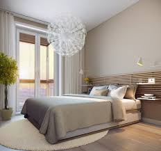 small bedrooms ideas neutral colors modern chandelier 20 Ideas How to Design  Small Bedroom That Abound