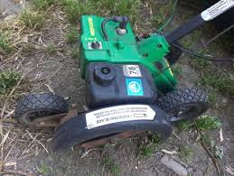 weed eater lawn tractor. weed eater needs repair. lawn tractor
