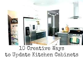 Kitchen Cabinet Budget Interesting Ideas To Update Kitchen Cabinets Kitchen Updates On A Budget Update