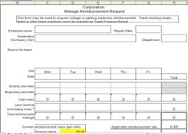 5 Best Photos Of Mileage Reimbursement Form Excel - Mileage ...