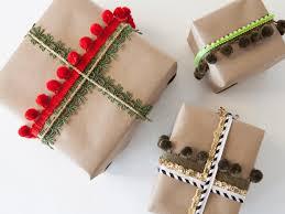 Christmas Gift Wrap embellishments