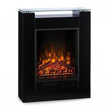 studio 5 electric fireplace fan heater 900 1800 w black