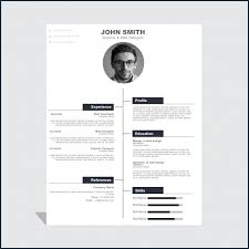 Creative Curriculum Vitae Template Word Free Download From