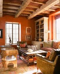 Burnt Orange And Brown Living Room Concept Interesting Ideas