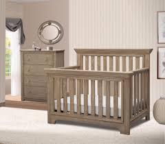 gray nursery furniture. Image Of: Rustic Gray Crib Nursery Furniture