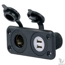 sealink 12v socket with usb s