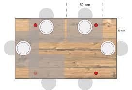 Tisch Gerundetes Rechteck