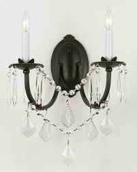 impressive chandelier wall sconces antique crystal innovactm gorgeous kitchen glass cylinder sconce stairwell wrought iron candle holders wooden bookshelf