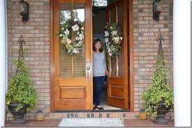 southern front doorsFeature Friday Housepitality Designs  Southern Hospitality