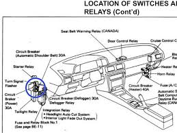 how to repair toyota camry driver s side windows seat belt and image 1 2 if all good check circuit breakers located under dash on