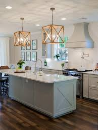 New kitchen lighting ideas Icanxplore Modern White Kitchen With Wooden Pendants Aesthe 30 Awesome Kitchen Lighting Ideas 2017