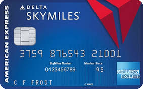 Skymiles Conversion Chart Blue Delta Skymiles Credit Card From American Express
