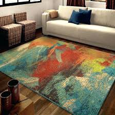 bright color area rugs colored abstract once multi rug attractive regarding solid blue bath mat bright colored rugs