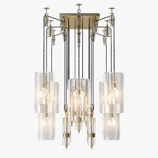 holly hunt rock crystal foyer piece chandelier beacon lighting pendant lights capitol b on al sahara