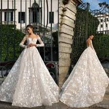 Top Lace Wedding Dress Designers Designer Lace Wedding Gowns