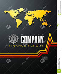 finance cover finance report cover stock vector illustration of report 9238499