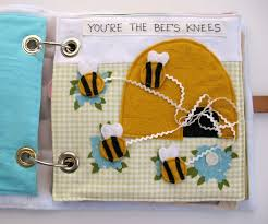 peach on quiet book volume 1 the velcro bee page