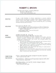 Scholarship Resume Examples A Great Resume Example Great Example
