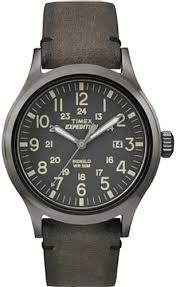 timex expedition scout leather strap watch tw4b01700 men s timex expedition scout leather strap watch tw4b01700