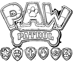 Small Picture Paw Patrol coloring pages Coloring Page paw patrol Pinterest