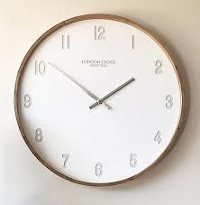 london clock wall clock numbers