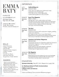Resume Emma Baty